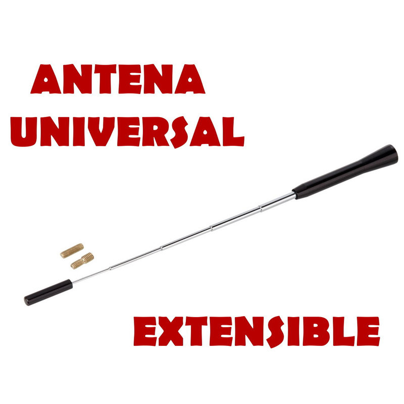 Antena Universal Coche Extensible
