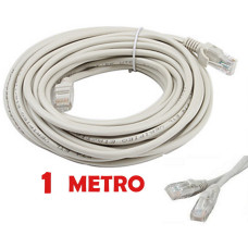 Cable de red UTP RJ45 CAT 5E de 1 metro