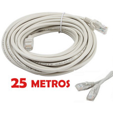 Cable de red UTP RJ45 CAT 5E de 25 metros