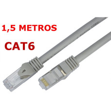 Cable de red UTP RJ45 CAT 6 de 1,5 metros