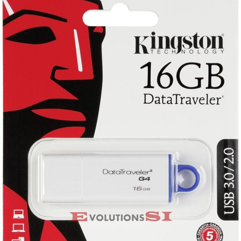 PENDRIVE 16 Gb KINGSTON DATATRAVELER G4