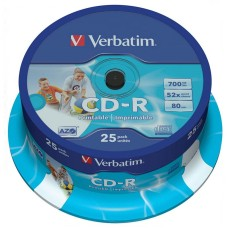 CD VERBATIM Tarrina 10 Unidades 700 Mb. 52X