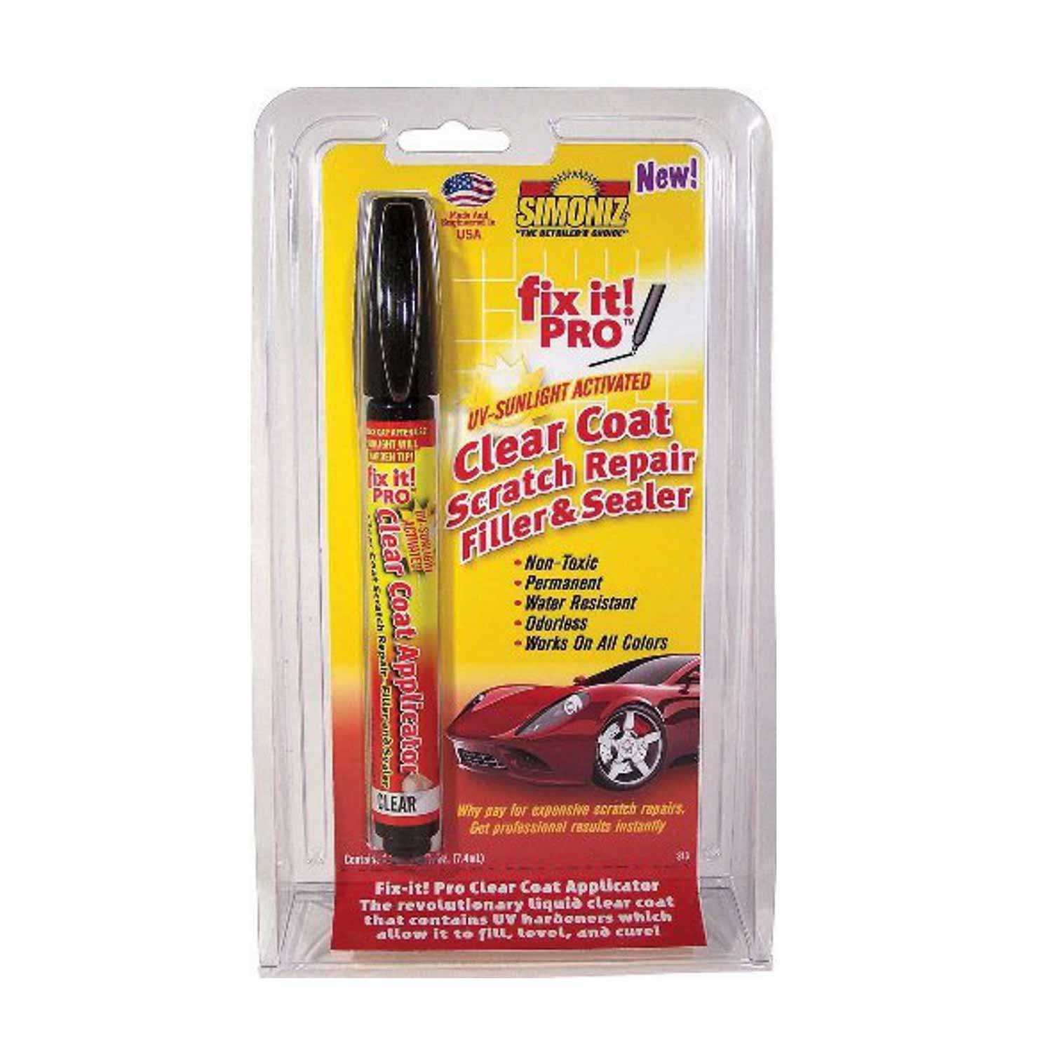 Reparador ara azos pintura coche fix it pro for Reparador de aranazos