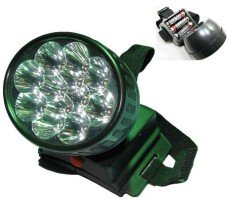 Linterna 12 Led Frontal De Cabeza